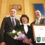 Во Львовском горсовете наградили и отметили выдающихся львовян