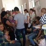 Во Львове родители возмущены организацией медосмотра детей в городской поликлинике