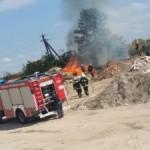 Во Львове пожар: горит мусор
