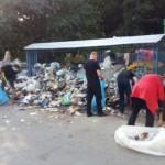 Было/стало. Как львовяне самостоятельно убрали улицу от завалов мусора