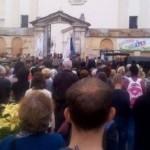 Московский патриархат оскорбляет память погибшего бойца АТО в Жолкве