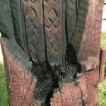 Во Львове вандалы повредили деревянные скульптуры