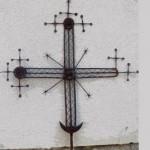 В Шевченковском гаю на одной из церквей заменили старый кованый крест