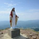 На горе Пикуй установили статую Иисуса Христа