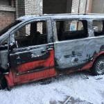 Директору Червоноградского рынке сожгли авто