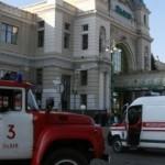Полицейские нашли злоумышленника, который «заминировал» железнодорожный вокзал в Львове