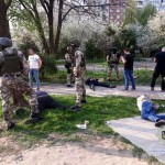 Во Львове правоохранители задержали преступную группу, которая занималась вымогательством