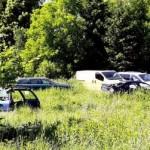 Приграничне село в Польше превратилось в пристанище старых автомобилей, которые скупают украинцы (фото)
