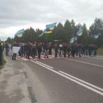 Горняки заблокировали трассу Львов-Рава-Русская