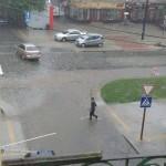Отремонтированную Лычаковскую после дождя затопило