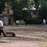 Французский парк возле дворца Потоцких, который посадил Возницкий, уничтожили. Видео