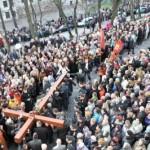 Римо-католики проведут во Львове молитвенное шествие