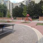 Во Львове появился общественное пространство с питьевым фонтаном и уличным кинотеатром (фото)