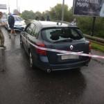 Неизвестный на авто пытался прорваться через украинско-польскую границу