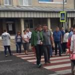 На Львовщине люди перекрыли движение на важной трассе