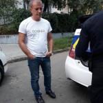 Известный пьяный львовский бизнесмен едва не въехал в детский сад и не сбил детей