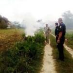 На Львовщине оштафують пятерых поджигателей сухой травы