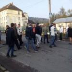На Львовщине люди заблокировали улицу Сходница-Борислав