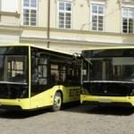 В ближайшие дни Львов ожидает получить 5 автобусов «Электрон»