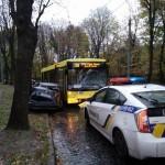 Патрульные разыскали водителя, который совершил ДТП с маршруткой 25 октября