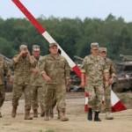 В военном городке Яворова воздвигнут монумент Славы павшим воинам