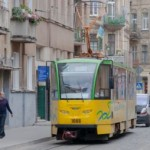 Львовские трамваи ремонтировать харьковская «прокладка» за почти 6 миллионов гривен