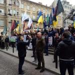 Во Львове проходит акция против репрессий (фото)