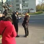 Во Львове патрульные вместе с журналистами штрафовали пешеходов (фото)