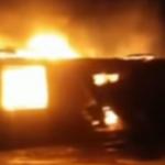 На Львовщине сгорело здание школы. Видео