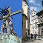 Львовские студенты собирают деньги на реставрацию скульптуры Иисуса Христа на куполе часовни Боимов