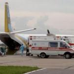 До Львова летит борт с ранеными военными