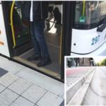 В Украине предлагают проектировать удобные бордюры на остановках общественного транспорта
