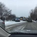 Из-за ДТП под Львовом парализовано международную трассу