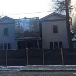 За стеклянную достройку на вилле Бачевских владельца оштрафуют на 170 тысяч