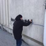 Борцы с наркотиками во Львове провели рейд против рекламы наркосайтив