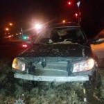 В Львове пяна мать с двумя детьми в авто повлекла ДТП (фото)