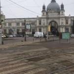 Во Львове требуют организовать удобный доезд до вокзала во время ремонта площади Дворцовой