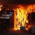 На Львившини 80-летний мужчина погиб во время пожара в собственном доме