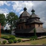 В Жовкве начали реставрацию деревянного храма Святой Троицы, который внесен в список всемирного наследия ЮНЕСКО