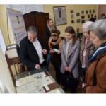 В Украине впервые показали 100-летние документы, связанные с семьей Франко