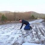 Священник УГКЦ снял клип на песню «Плакала» о аварийную дорогу на Львовщине