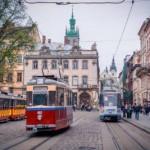 В поливальный понедельник трамваи не будут курсировать через центр Львова