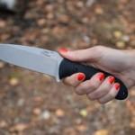 Полицейские задержали львовянку, которая нанесла удар ножом мужчине