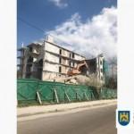 Во Львове продолжается демонтаж незаконной застройки на Лычаковской
