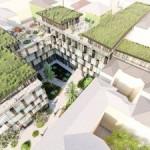 Возле ТРЦ Forum Lviv планируют построить 5-этажный отель (визуализация)