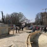 Жители новостройки на улице Тернопольской вышли на акцию протеста (фото)