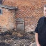 На Львовщине подполковник полиции Юрий Иосифов спас пожилую женщину от огня