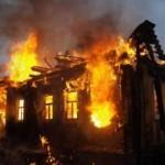 На Львовщине погиб человек из-за пожара в деревянном доме