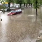 На Львовщине из-за дождей затопило Золочивщину и Трускавец (фото)