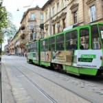 С мая большинство львовских трамваев изменят схемы движения